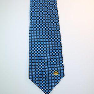 Gucci Tie - Blue Checker Pattern